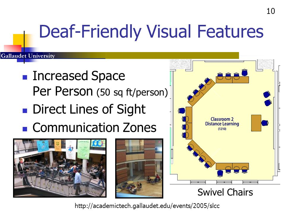 Deaf-Friendly Visual Features