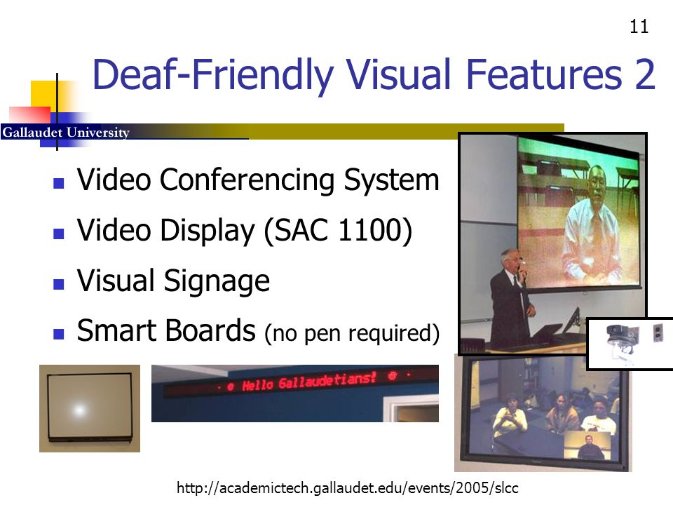 Deaf-Friendly Visual Features 2