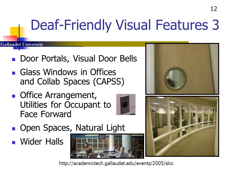 Deaf-Friendly Visual Features 3