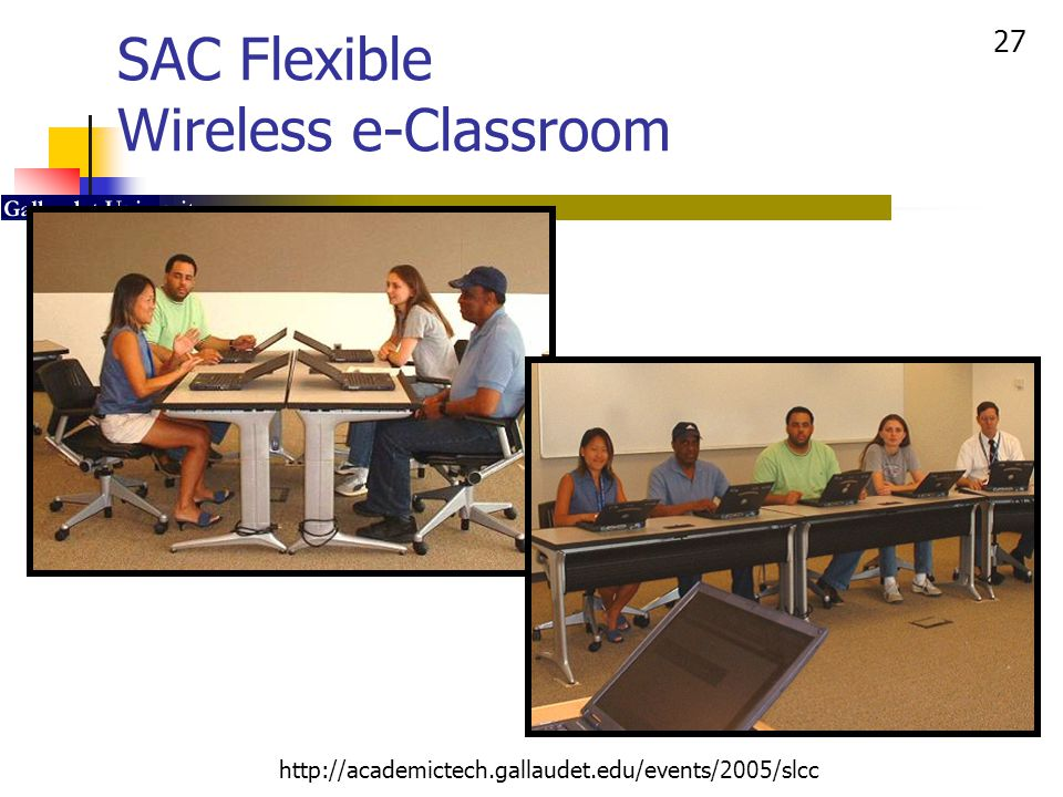 SAC Flexible Wireless e-Classroom