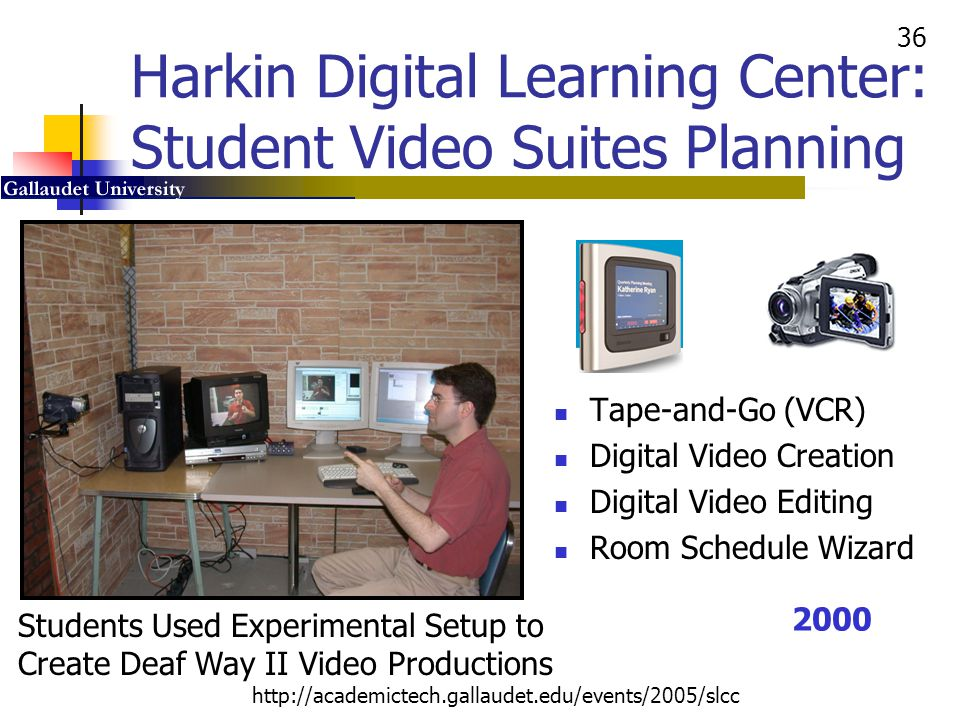 Harkin Digital Learning Center: Student Video Suites Planning