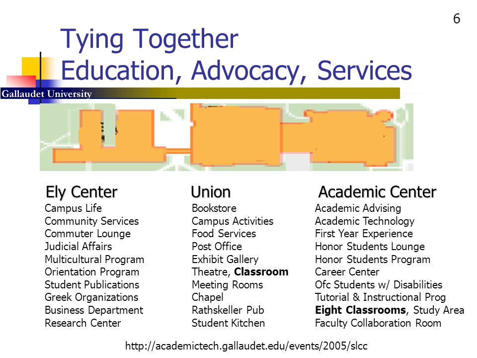 Tying Together Education, Advocacy, Services