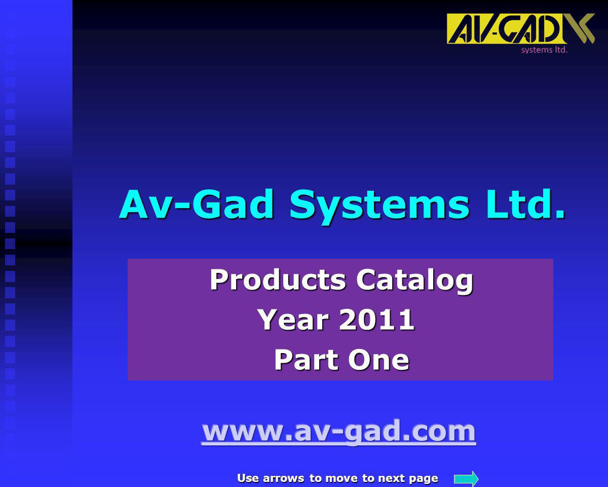 Products Catalog Year 2011 Part One