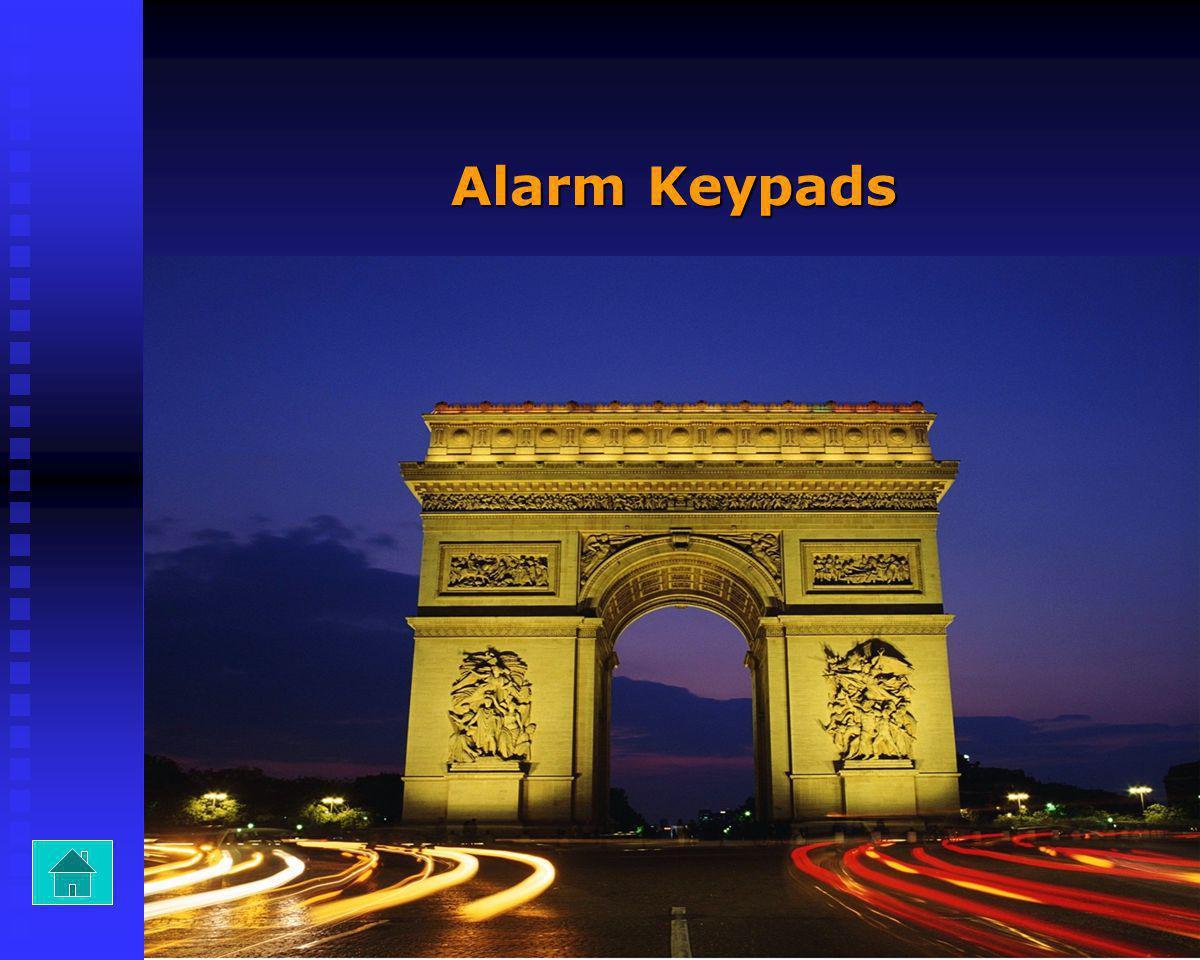 Alarm Keypads