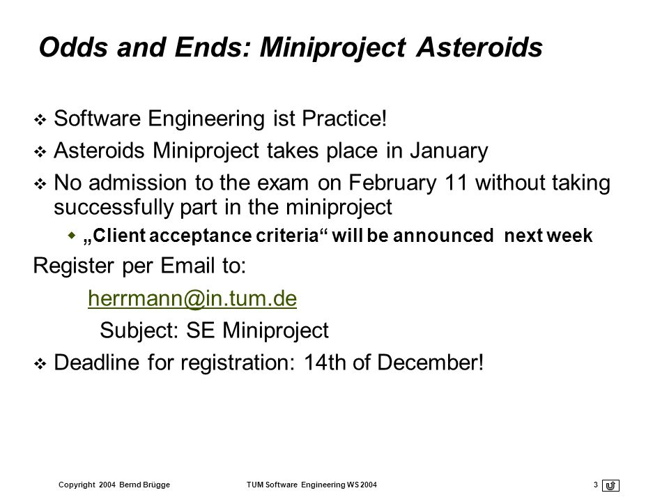 Odds and Ends: Miniproject Asteroids