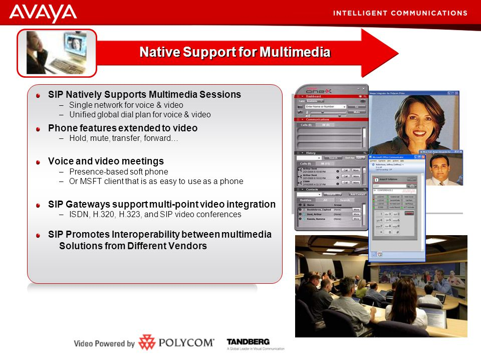 Native Support for Multimedia