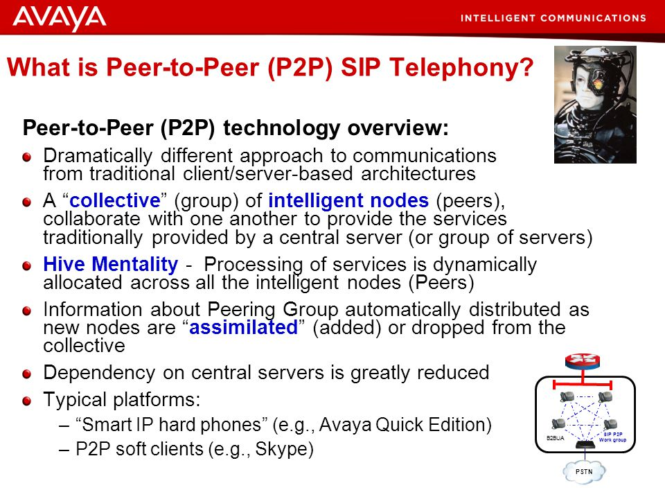 What is Peer-to-Peer (P2P) SIP Telephony