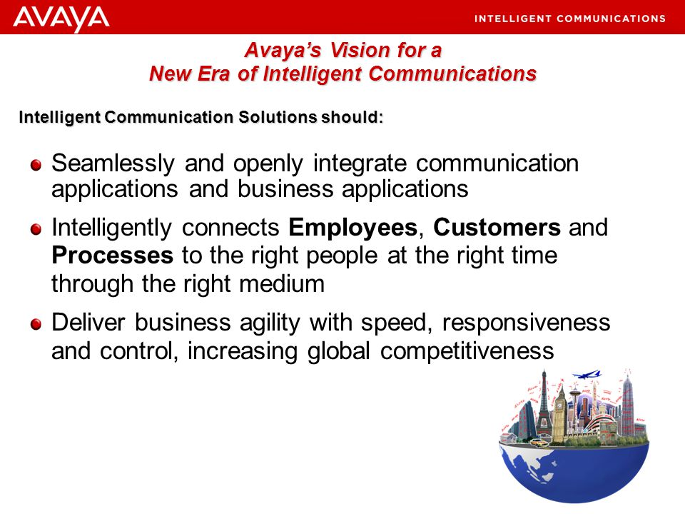 Avaya's Vision for a New Era of Intelligent Communications