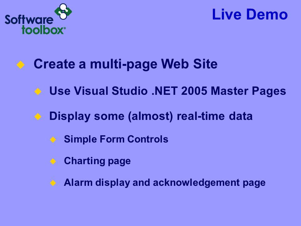 Live Demo Create a multi-page Web Site
