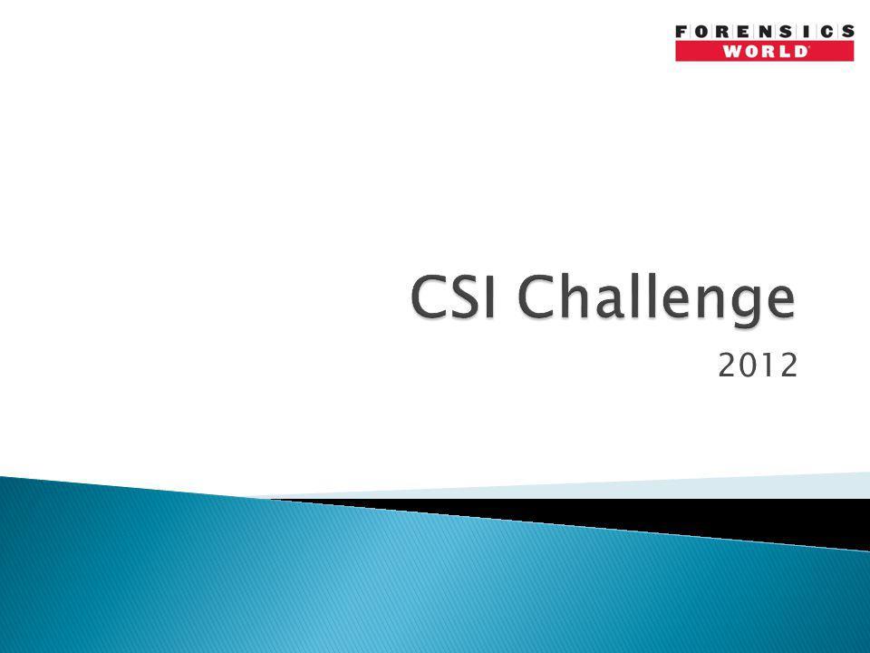 CSI Challenge 2012