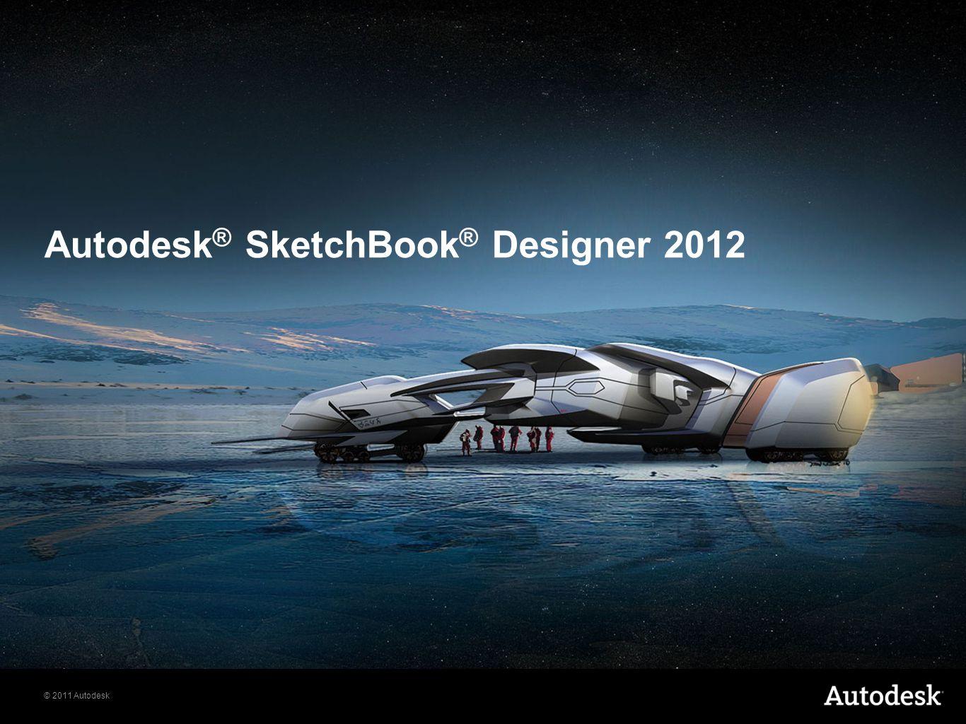 Autodesk® SketchBook® Designer 2012