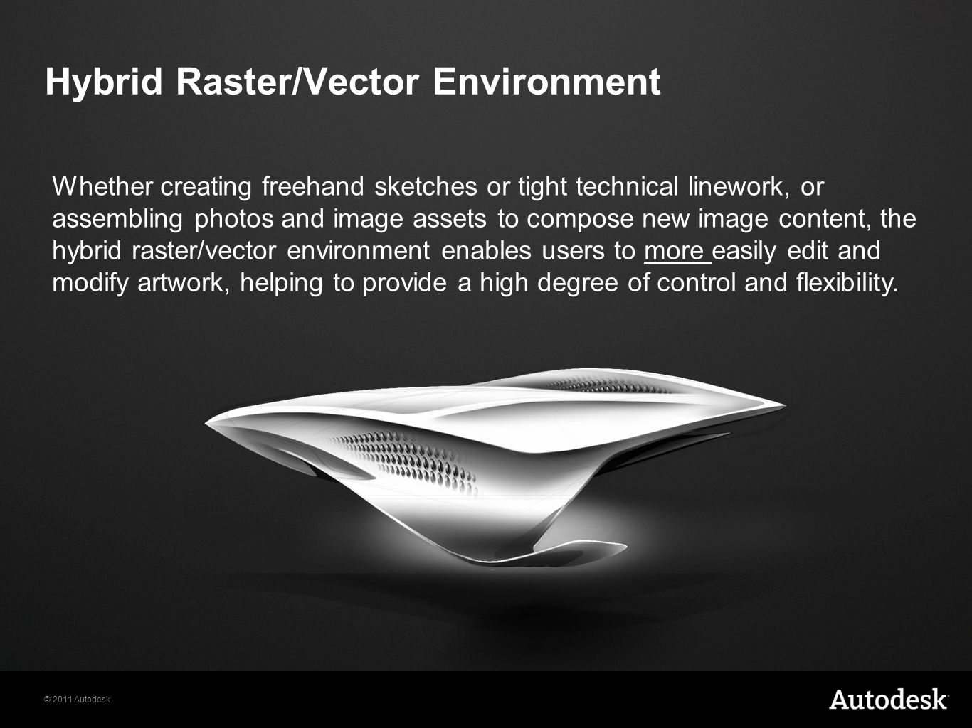 Hybrid Raster/Vector Environment