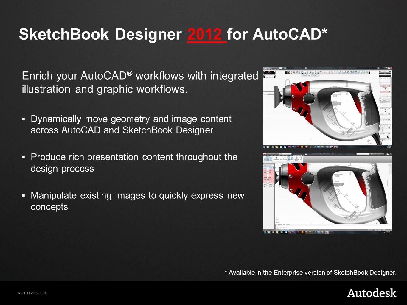 SketchBook Designer 2012 for AutoCAD*