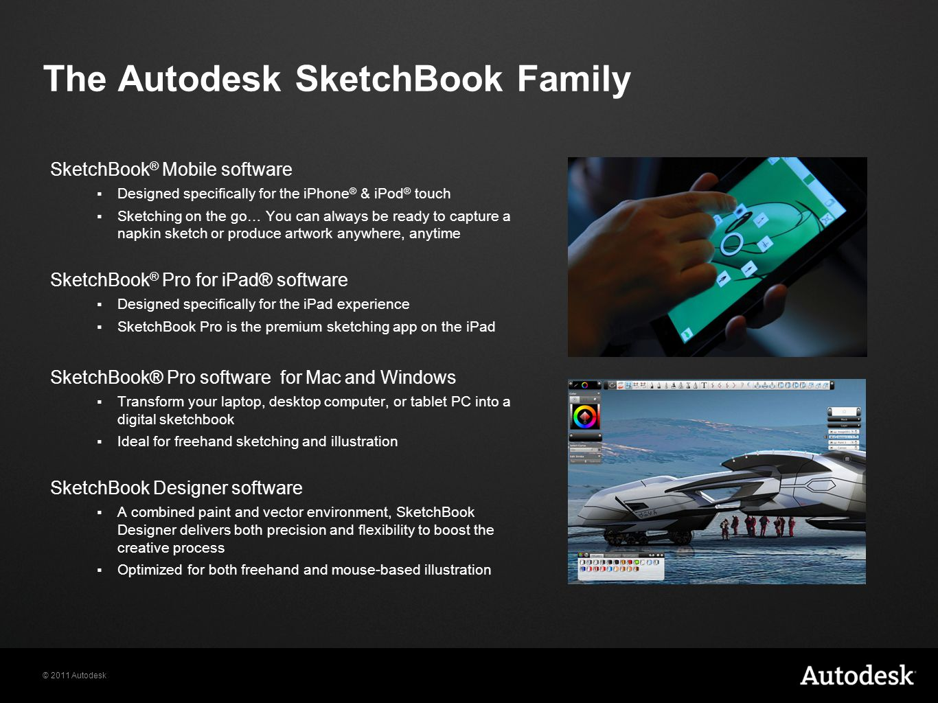 The Autodesk SketchBook Family