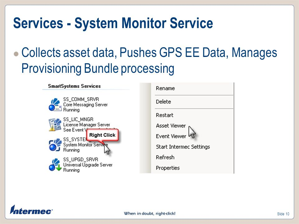 Services - System Monitor Service