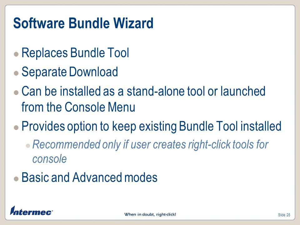 Software Bundle Wizard