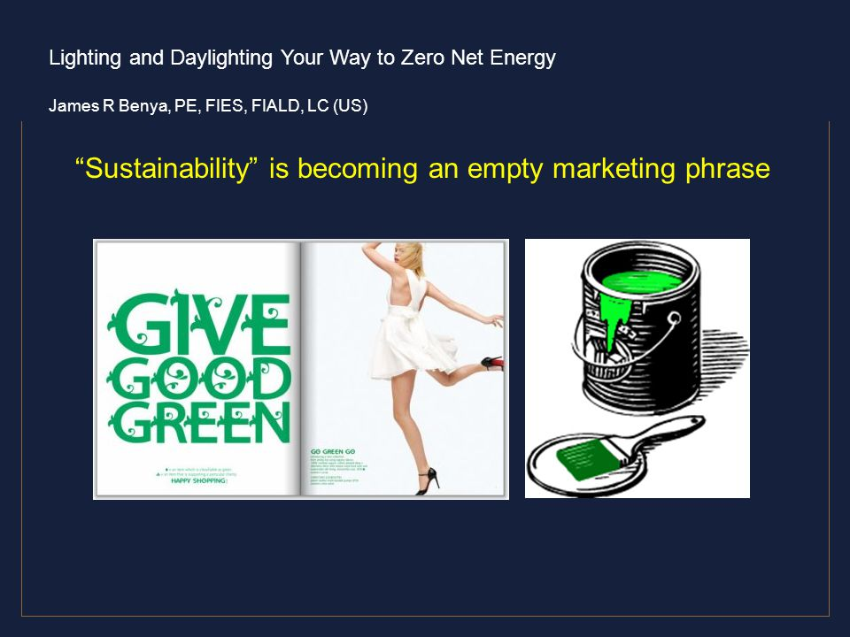 Sustainability is becoming an empty marketing phrase