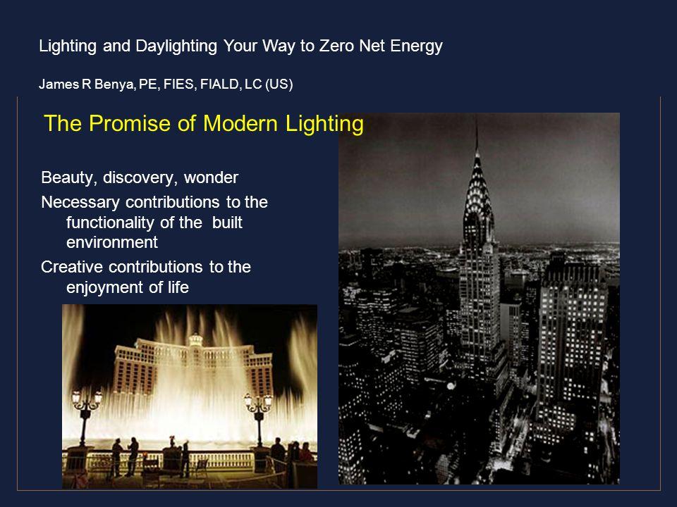The Promise of Modern Lighting