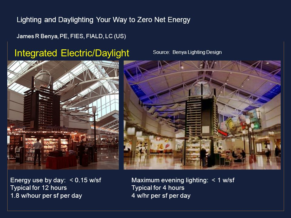 47 integrated electric daylight source benya lighting design energy use