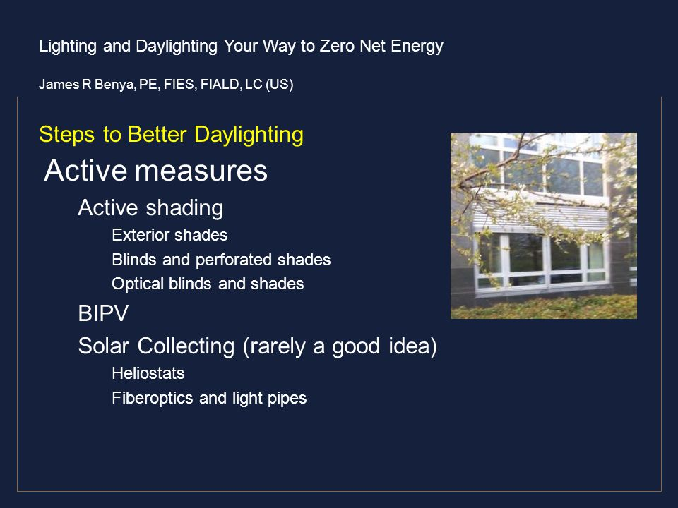 Steps to Better Daylighting