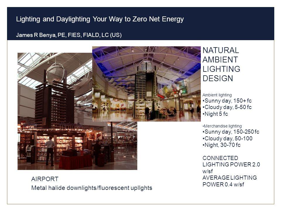 NATURAL AMBIENT LIGHTING DESIGN