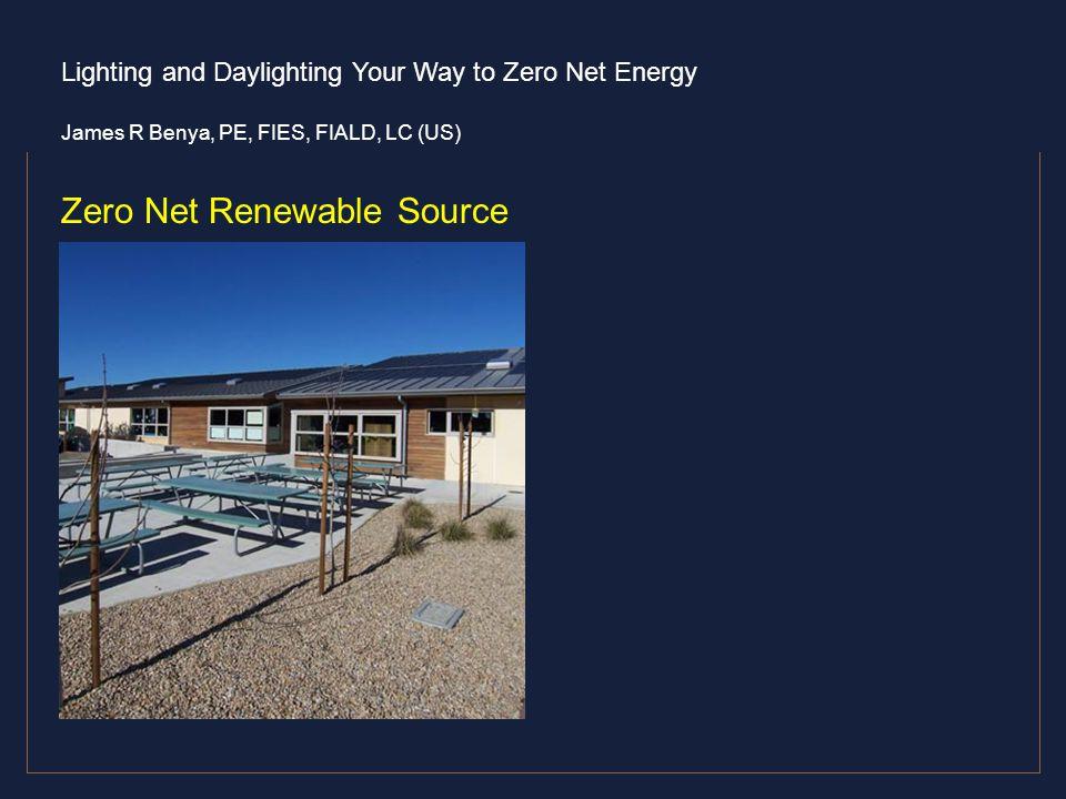 Zero Net Renewable Source