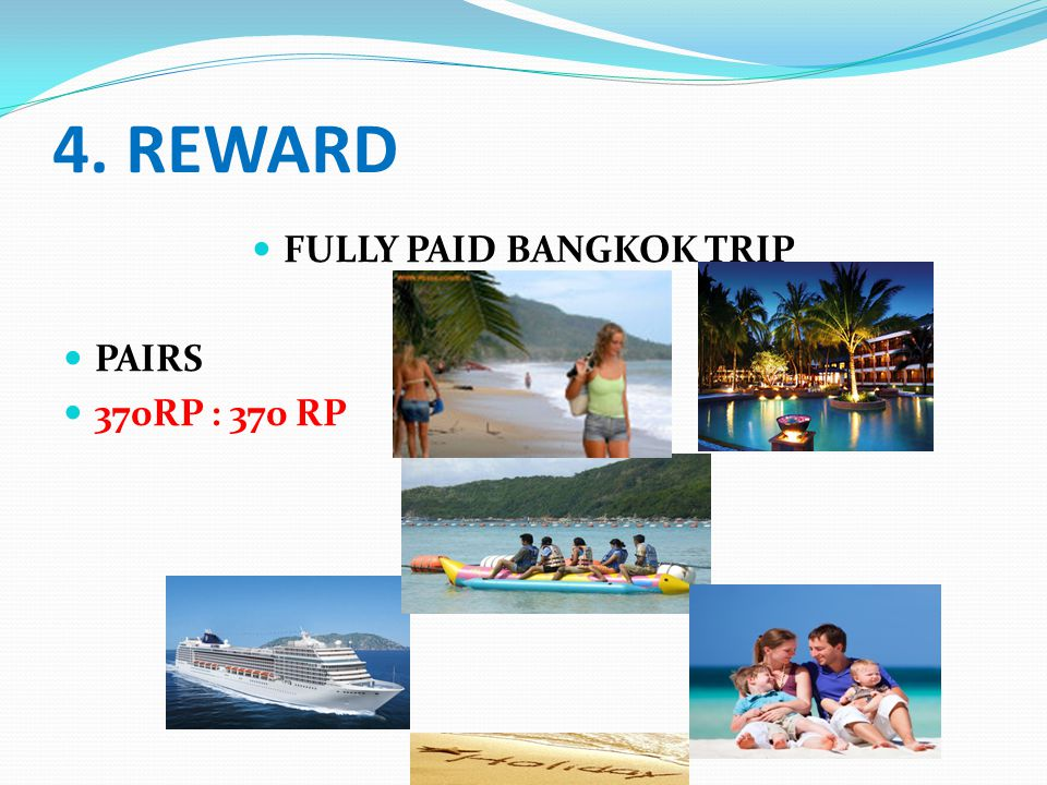 FULLY PAID BANGKOK TRIP
