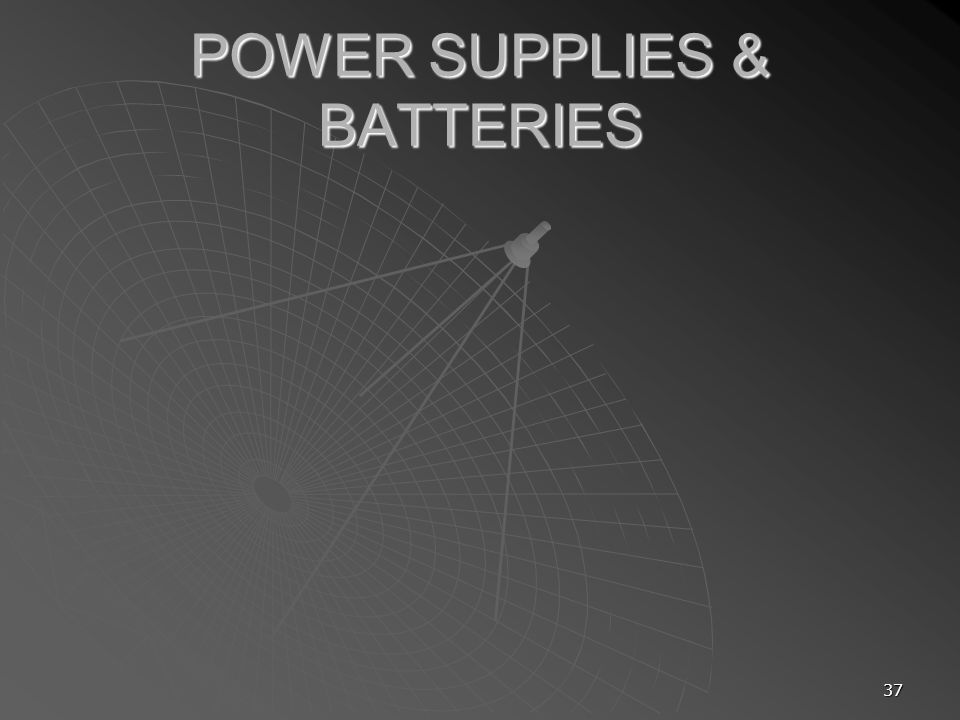POWER SUPPLIES & BATTERIES