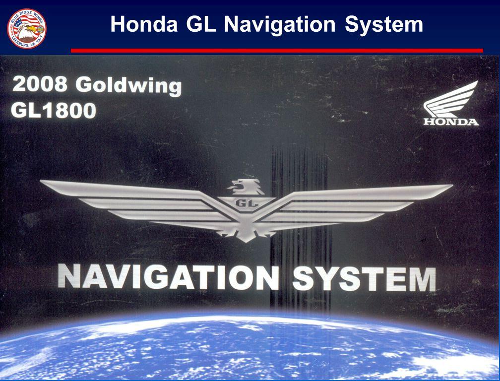 Honda GL Navigation System