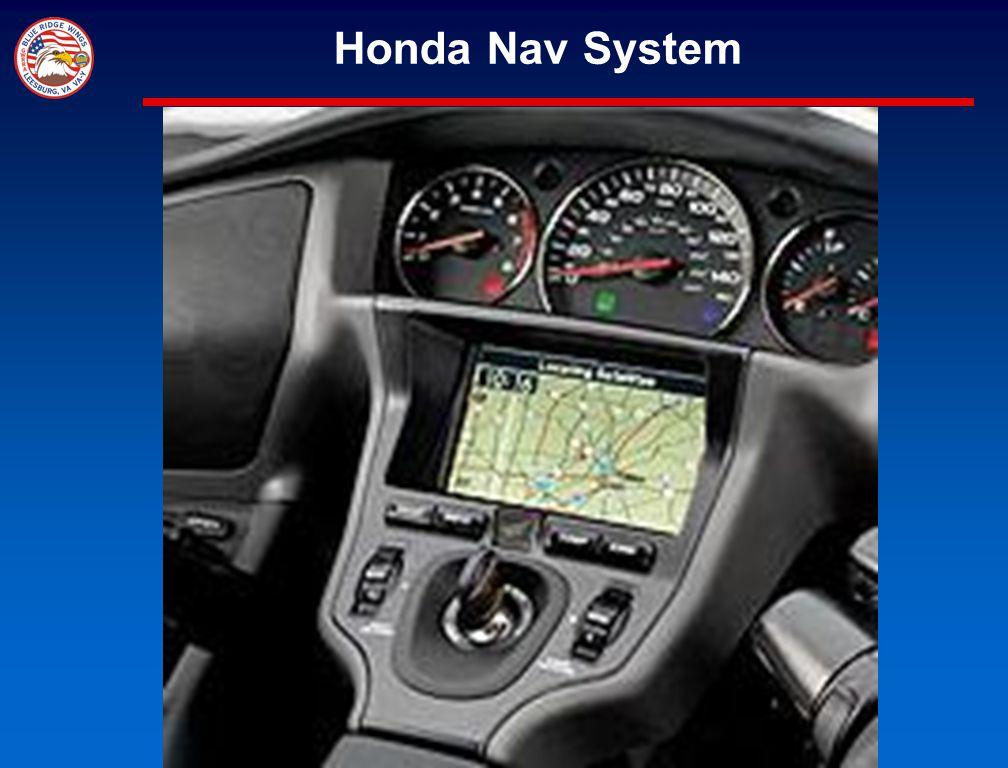 Honda Nav System