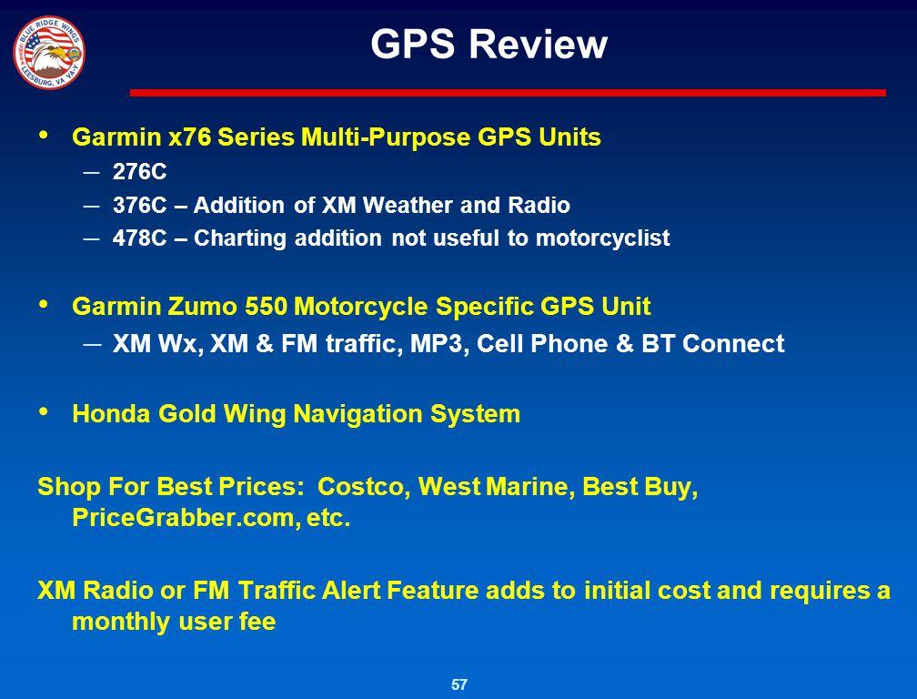 GPS Review Garmin x76 Series Multi-Purpose GPS Units