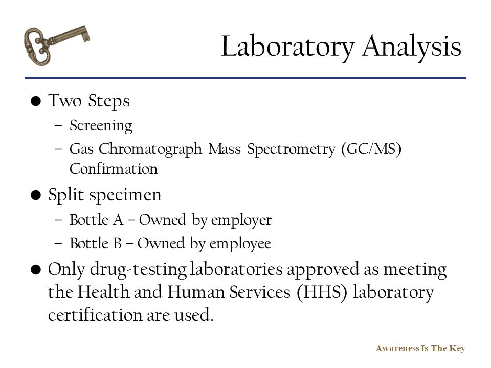 Laboratory Analysis Two Steps Split specimen
