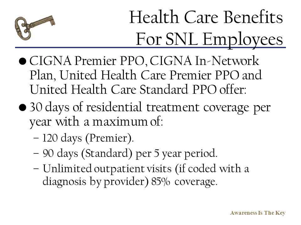Health Care Benefits For SNL Employees