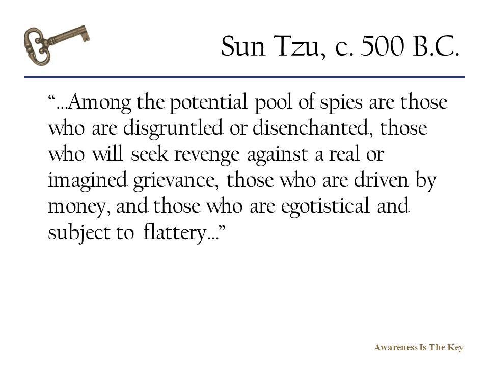 Sun Tzu, c. 500 B.C.