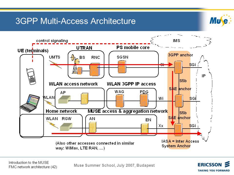 3GPP Multi-Access Architecture