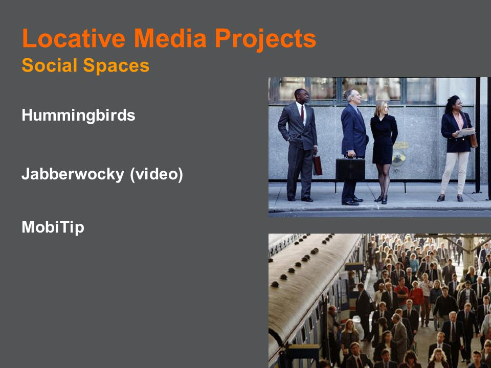 Locative Media Projects