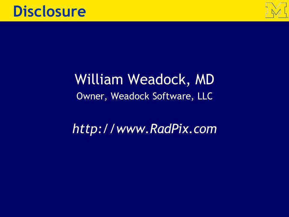 Owner, Weadock Software, LLC