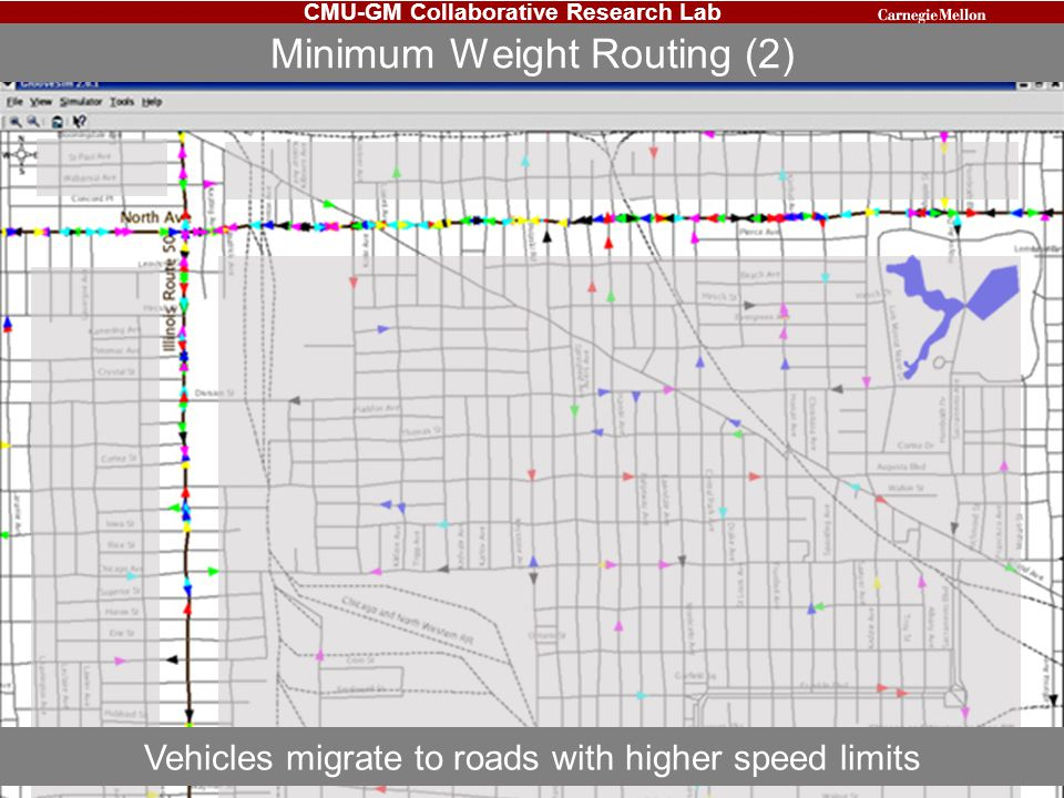 Minimum Weight Routing (2)