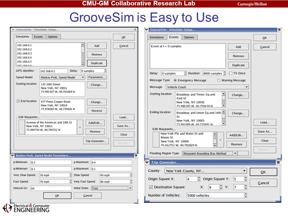 GrooveSim is Easy to Use