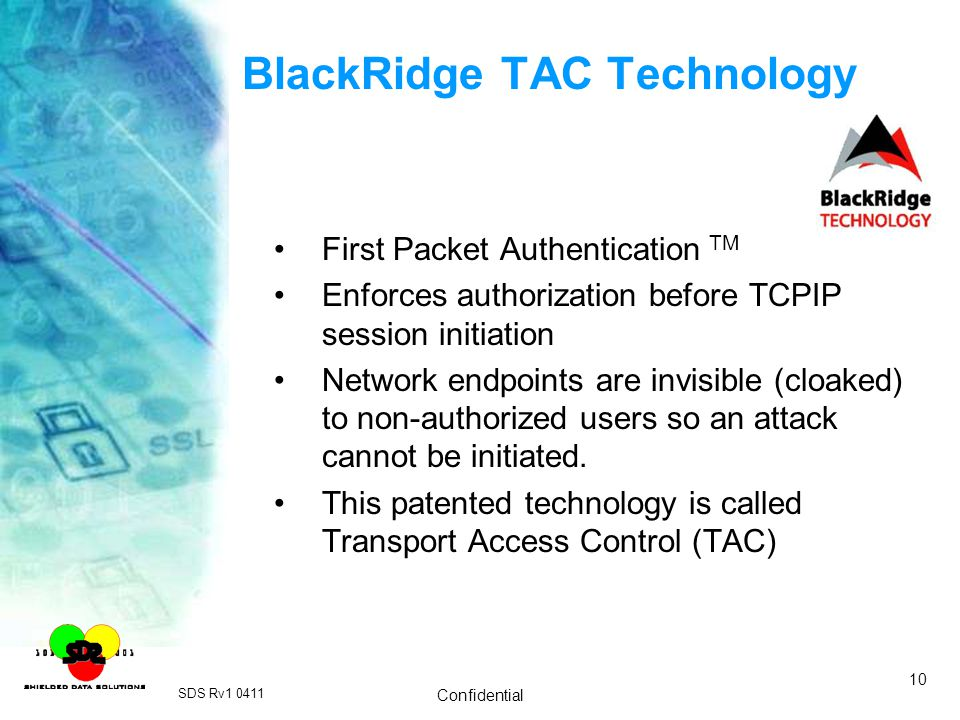 BlackRidge TAC Technology