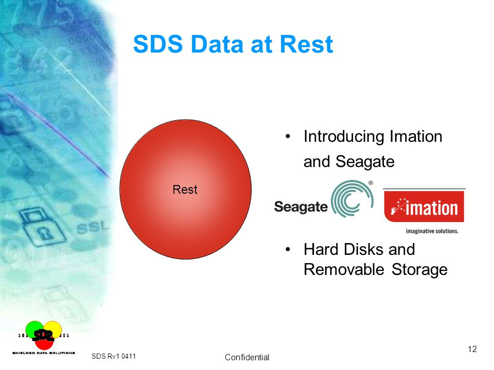 SDS Data at Rest Introducing Imation and Seagate