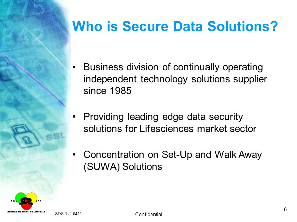 Who is Secure Data Solutions