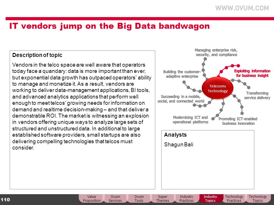 IT vendors jump on the Big Data bandwagon