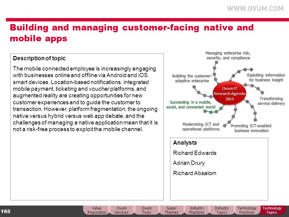 Building and managing customer-facing native and mobile apps