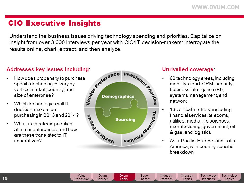 CIO Executive Insights