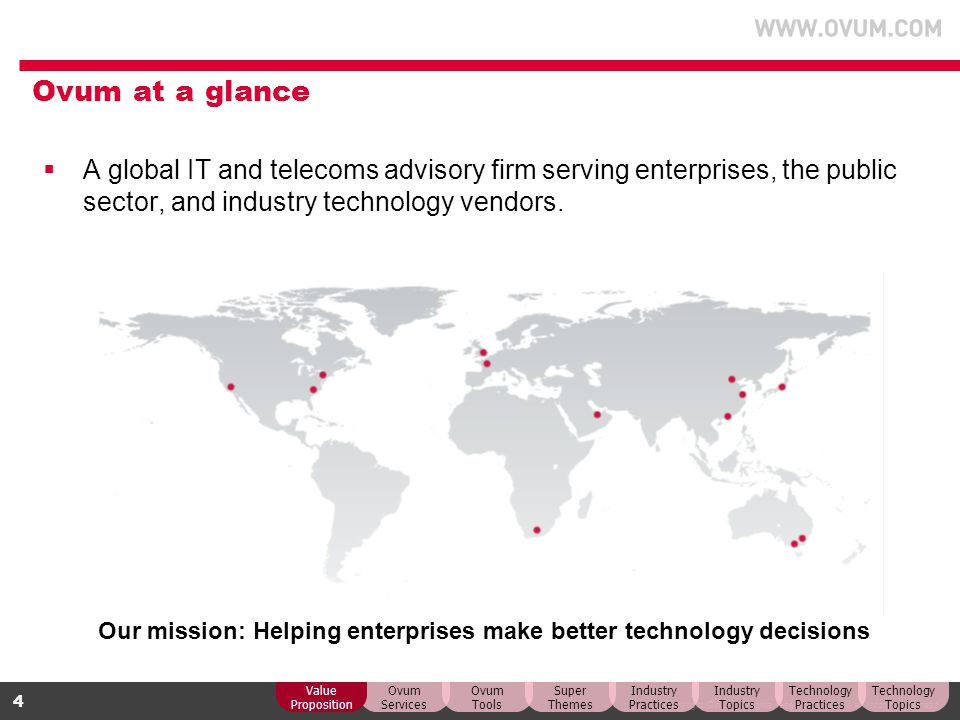 Our mission: Helping enterprises make better technology decisions