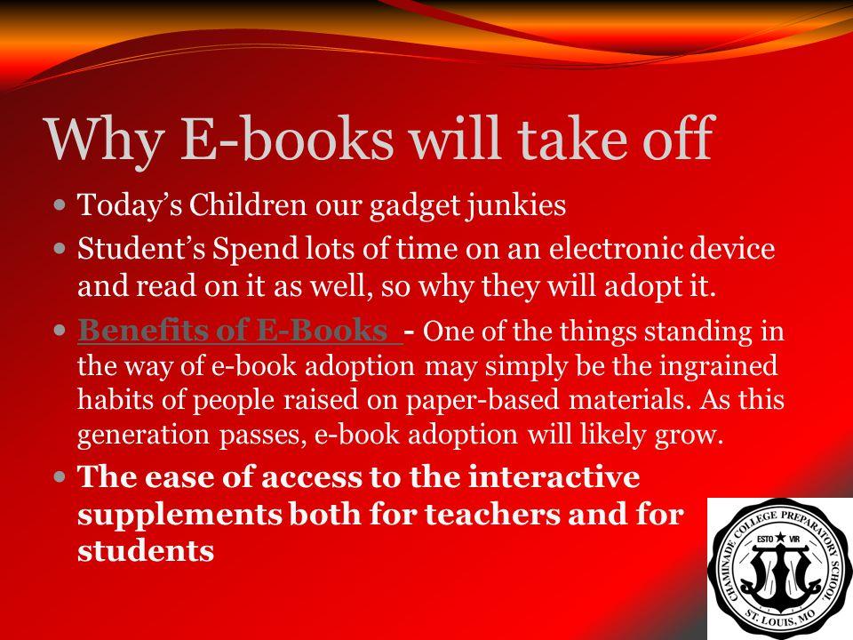 Why E-books will take off