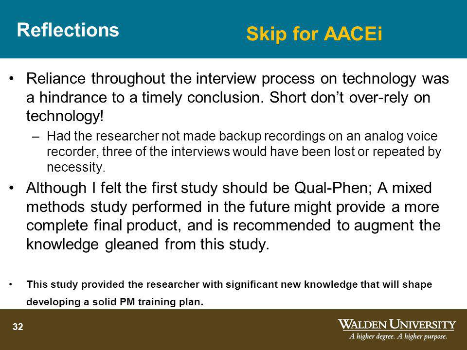 Reflections Skip for AACEi