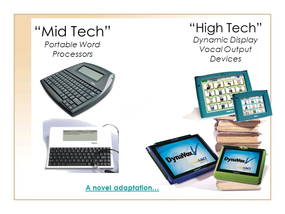 Mid Tech Portable Word Processors