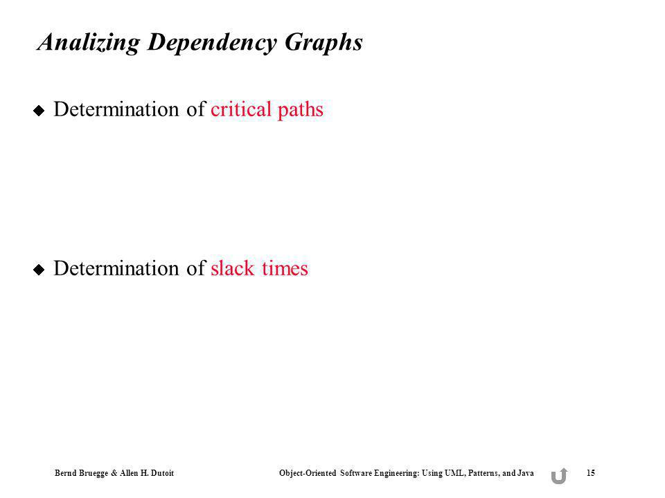 Analizing Dependency Graphs